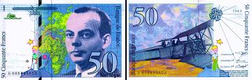 1 French Franc Ffr 100 Centimes Notes Are In Denominations Of Ffr500 200 50 20 And 10 Coins Ffr10 5 2