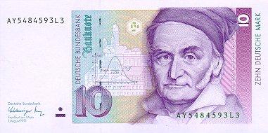 20 Deutsche Marks Note 10