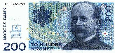 200 Norwegian Kroner