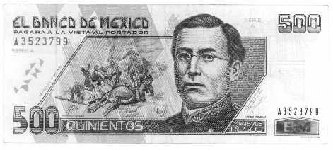 Other Mexican Peso Images 10 Pesos 200 And 500