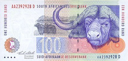 100 South African Rand Note