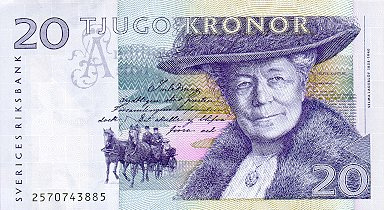 20 Swedish Kronor Note