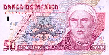 travlang's Exchange Rates: US Dollars and Mexican Pesos