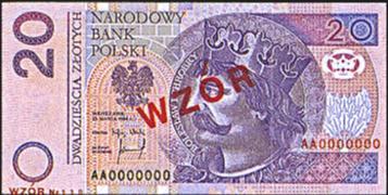 twenty zloty